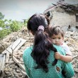 A series of photos taken in the aftermath of the earthquake, in and around Kathmandu - by Lieve Blancqaert, a Belgian photographer and filmmaker. The photographer was in Nepal for a documentary about child marriage, in cooperation with Belgian national TV and Plan Belgium, when the earthquake struck.   The urgency relief shown in the pictures are not necessarily provided by Plan.